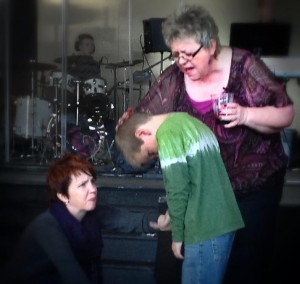 Anointing Aiden